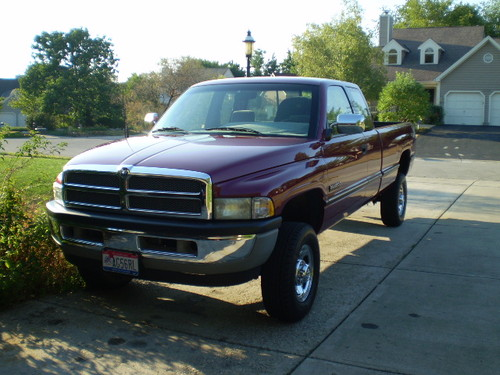 1996 Dodge 2500 SLT Turbo Diesel 4x4 for Sale